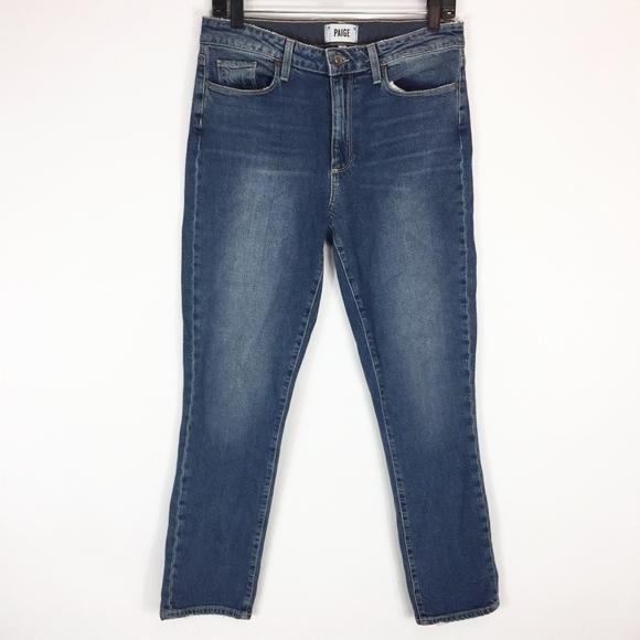 PAIGE Womens Julia Straight Jeans